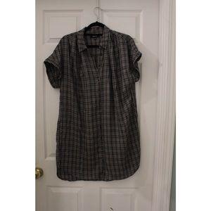 MADEWELL PLAID DRESS